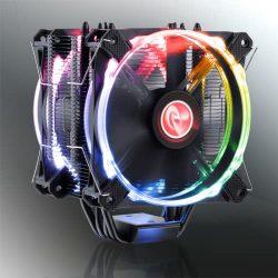 Raijintek Leto Pro RGB 2x12cm processzor hűtő