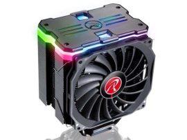 Raijintek Mya RBW 12cm RGB LED processzor hűtő