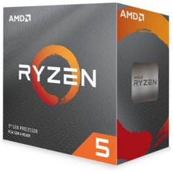 AMD Ryzen 5 5600X sAM4 BOX processzor (Wraith Stealth cooler)
