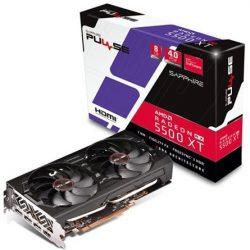 Sapphire Radeon RX 5500 XT PULSE 8GB GDDR6 128-bit grafikus kártya