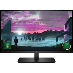 """27"""" HP 27x ívelt LED monitor (144Hz FreeSync) fekete (1AT01AA#ABB)"""