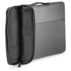 "HP Sleeve Crosshatch Carry 15,6"" szürke tok"