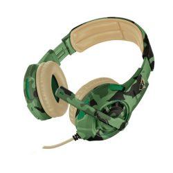 Trust GXT 310C Radius Jungle mikrofonos fejhallgató