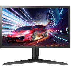 """23,6"""" LG 24GL650-B UltraGear TN LED gaming monitor (144Hz FreeSync) fekete"""