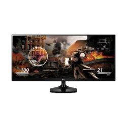 """25"""" LG 25UM58-P IPS LED monitor fekete"""