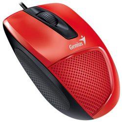 Genius DX-150X USB optikai egér piros