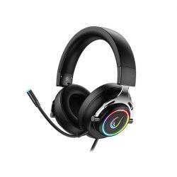 Rampage RM-33 FALCON RGB mikrofonos fejhallgató