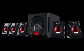 Genius SW-G5.1 3500 Gaming hangszóró Black