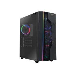 Rampage Alpha-X számítógépház 600W-os Rampage RMP-600-80p tápegységgel (32215)