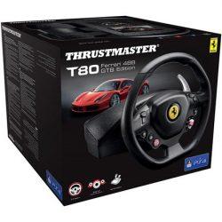 Thrustmaster T80 RW Ferrari 488 GTB fekete kormány