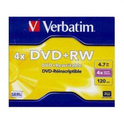 Verbatim DVD+RW újraírható DVD lemez