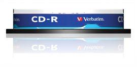 Verbatim CD-R írható CD lemez, hengeres 10db