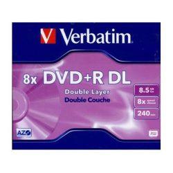 Verbatim DVD+R DL 8,5GB írható DVD lemez