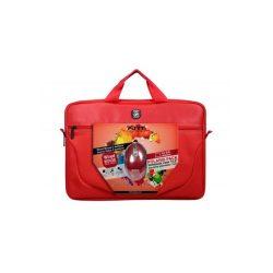 """Port Designs Polaris II Bundle 15,6"""" notebook táska + vezetékes egér - piros"""