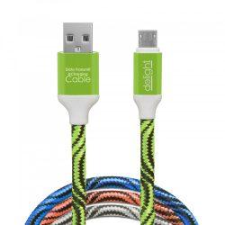 Delight USB kábel A-B (micro) 1m