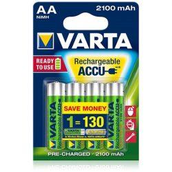 Varta Ready To Use 1.2V AA Ni-Mh 2100mAh akku 4db (R2U)