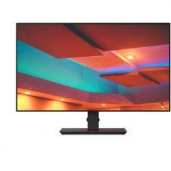 """24"""" Lenovo ThinkVision P24q-20 IPS LED monitor fekete"""