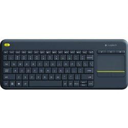 Logitech K400 Plus vezeték nélküli touchpaddal