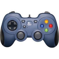 Logitech RumblePad F310 USB gamepad kék-fekete