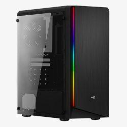 Aerocool Rift RGB Window Black számítógépház