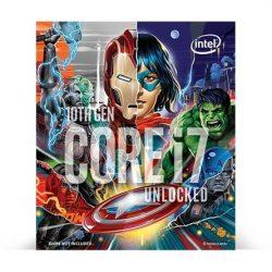 Intel Core i7-10700KA LGA1200 BOX processzor Marvel Avengers Special Edition