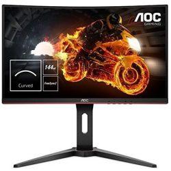 """24"""" AOC C24G1 ívelt gaming monitor"""