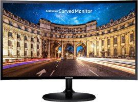 "27"" Samsung C27F390FHU ívelt LED monitor (FreeSync) fekete"