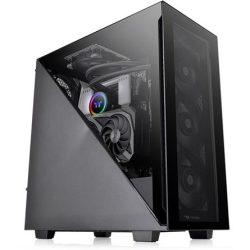 Thermaltake Divider 300 TG táp nélküli ATX számítógépház fekete