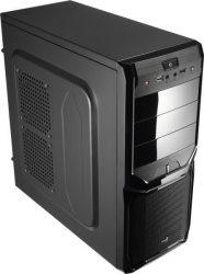 AeroCool V3X Advance fekete számítógépház