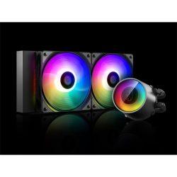 DeepCool CASTLE 240 RGB V2 folyadékhűtés