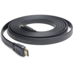 Gembird HDMI 1.4 M/M video jelkábel 1,8m lapos