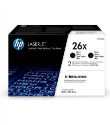 HP CF226XD (26X) 2-pack black toner