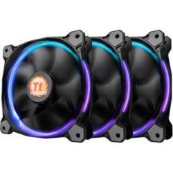 Thermaltake Riing 12 LED RGB (3 FAN Pack) rendszerhűtő ventillátor (CL-F042-PL12SW-B)