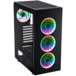 FSP CMT340 számítógépház fekete