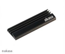 Akasa M.2 NVMe hűtőborda fekete