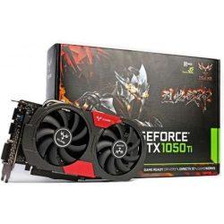 Colorful GTX1050TI NB 4G - GeForce GTX1050 Ti 4GB GDDR5 grafikus kártya