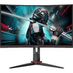 "27"" AOC CQ27G2U/BK ívelt VA LED gaming monitor fekete 144Hz FreeSync"