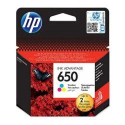 HP CZ102AE (no.650) színes tintapatron