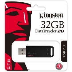 32GB Kingston Data Traveler 20 USB2.0 pendrive (DT20/32GB)