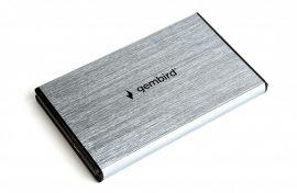 Gembird EE2-U3S-3-GR USB3.0 Enclosure Aluminium/Grey