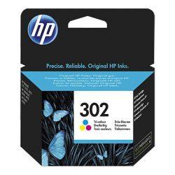HP F6U65AE (302) színes tintapatron