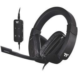 Thermaltake Shock XT 7.1 gaming fejhallgató headset fekete