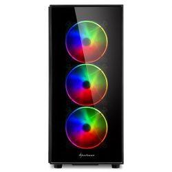 Sharkoon TG5 PRO RGB számítógépház
