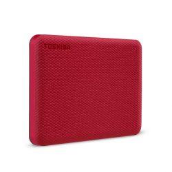 "1TB Toshiba Canvio Advance USB3.0 2,5"" külső HDD piros"