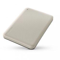 """1TB Toshiba Canvio Advance fehér-bézs 2,5"""" külső winchester"""