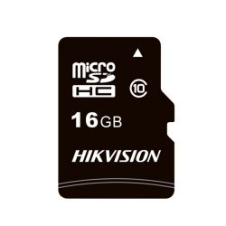 16GB Hikvision microSD kártya CL10 + adapter (HS-TF-C1(STD)/16G/ADAPTER)