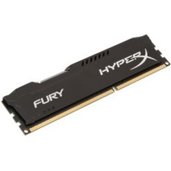 4GB Kingston HyperX Fury Black DDR3 1600MHz (HX316C10FB/4)