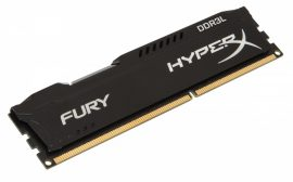 4GB Kingston HyperX Fury Black DDR3L 1600MHz (HX316LC10FB/4)