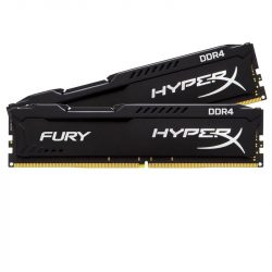 16GB Kingston HyperX Fury DDR4 2400MHz black KIT (HX424C15FB3K2/16)