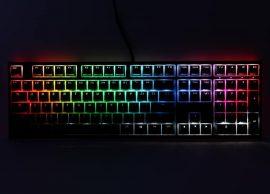 Ducky ONE 2 RGB Full Size MX Brown RGB LED Angol (US) Fekete